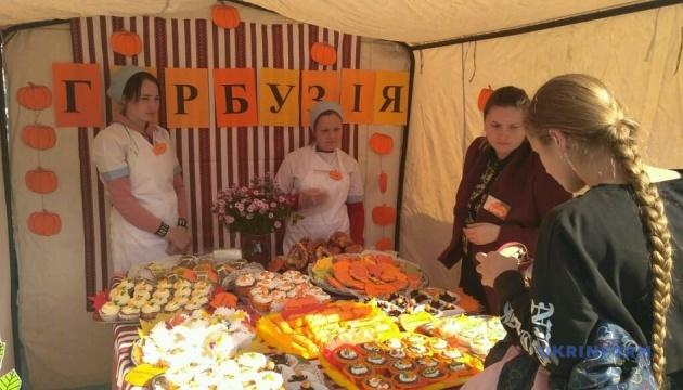 На фестивалі гарбуза в Чернівцях представили десятки страв