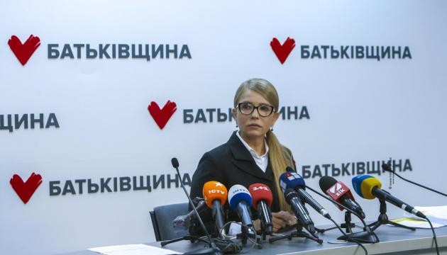 Julia Tymoschenko reagiert auf Spott von Präsident Selenskyj