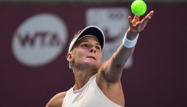 Ястремська програла Квітовій на турнірі WTA в Китаї