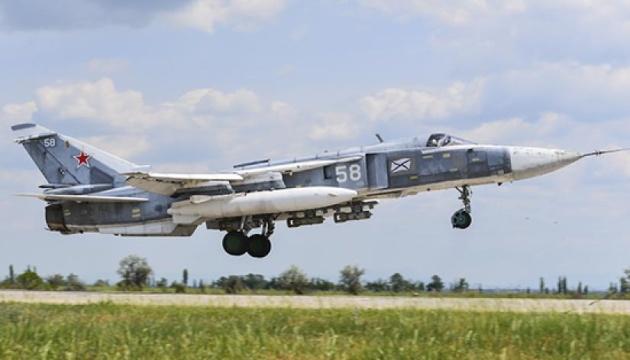 Авіація РФ відпрацьовувала ракетні удари в окупованому Криму