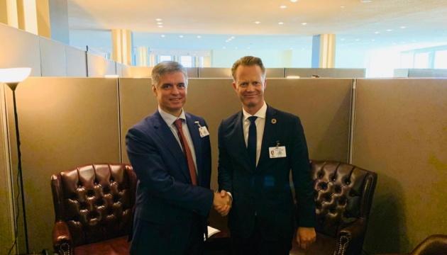 Пристайко обговорив із главою МЗС Данії загрози Nord Stream 2