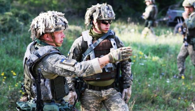 На Saber Junction украинские десантники тренируются в