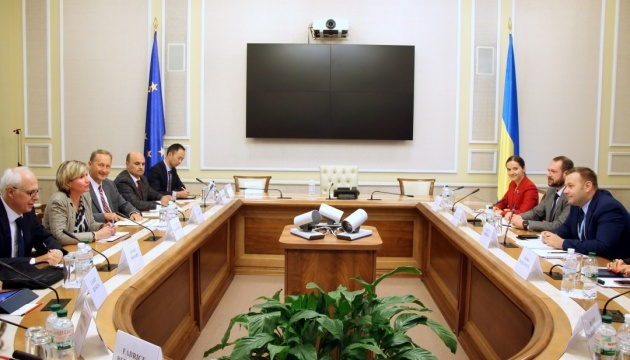 Ukrainian energy minister Orzhel meets with World Bank delegation