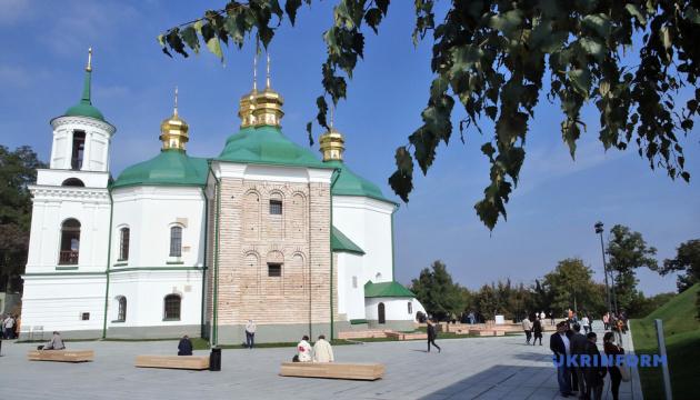 У Києві відкрили відреставровану церкву, яка входить до списку ЮНЕСКО