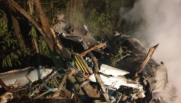 У Словаччині розбився винищувач МіГ-29