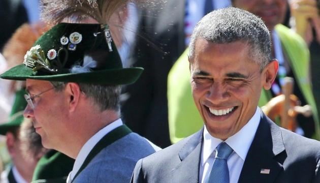Обама в Мюнхене шутил про Октоберфест