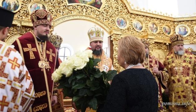 Epiphanius weiht neu gebaute Kirche in Region Shytomyr ein - Foto