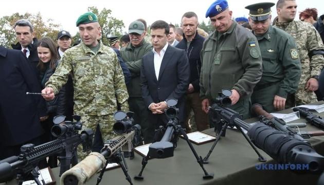 Zelensky  a assisté à la formation des agents du ministère de l'Intérieur (photos)