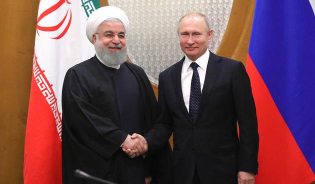 Хасан Рухані і Володимир Путін
