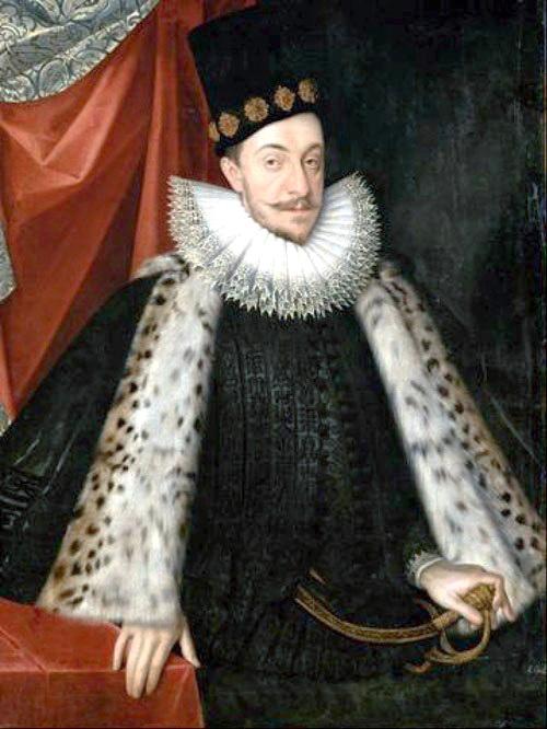 король Речі Посполитої Сиґізмунд III  Ваза