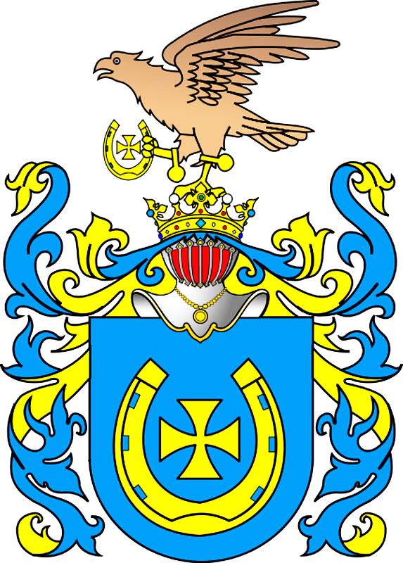 герб Ястржембец, до якого належав польский дворянский рід Циолковских