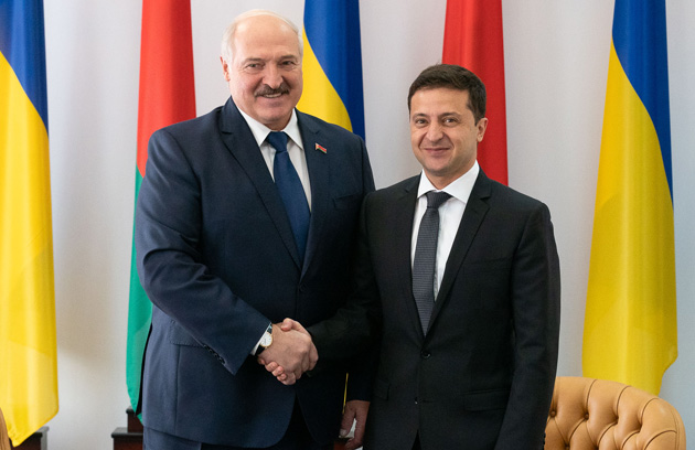 Alexander Lukaschenko, Wolodymyr Selenskyj / Foto: Büro des Präsidenten