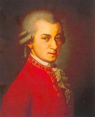 портрет Моцарта (написан после его смерти) Барбарой Крафт. Вена, 1819