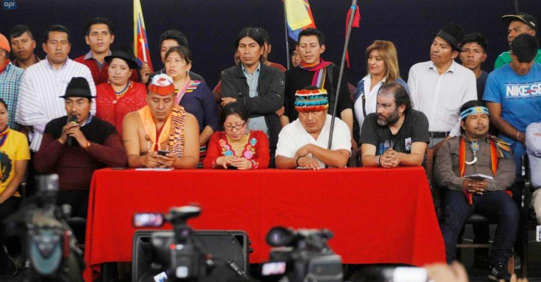 Конфедерація корінних народів Еквадору (CONAIE) вимагає соціальних змін