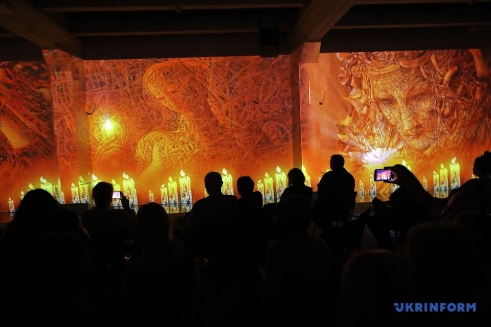 Выставка гениального украинского художника в Киеве