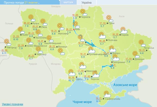 Тепло та сухо: синоптики розповіли про погоду наступного тижня