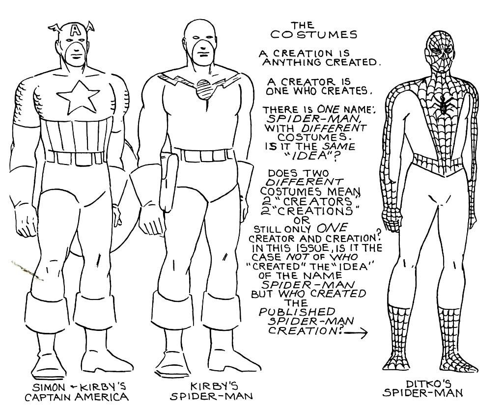 як змінювалися костюми капітана Америки - праворуч - версія Стіва Дідко