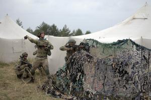 Україна посилює кордон із Білоруссю перед її військовими навчаннями з РФ «Захід-2021»