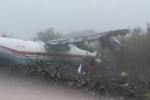 L'atterrissage d'urgence d'un avion AN-12 dans la région de Lviv fait 5 morts