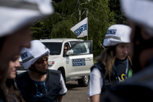 OSCE: Movement of people between occupied Donbas and Russia increases