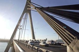 В Киеве сегодня ограничат движение по Северному мосту