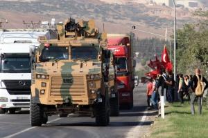 Туреччина відправила у сирійський Ідліб конвой з військовою технікою