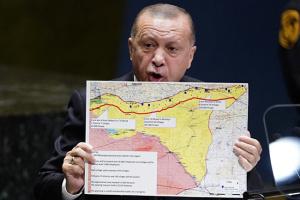 Ердоган запевнив, що Туреччина не претендує на землі Сирії