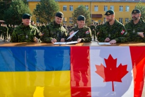 Canada rotates soldiers in Ukraine within Operation UNIFIER