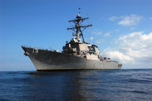 """Американский эсминец Porter с установками для """"Томагавков"""" прибыл в Одессу"""