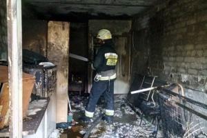 В Белой Церкви горела мебельная фабрика