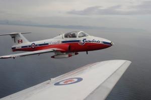 В Штатах потерпел крушение канадский учебный самолет