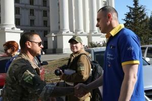 """Сенцов долучився до маршу """"Free Markiv"""""""