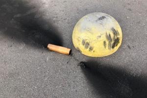 Невідомі кинули димові шашки під час акції «Ні капітуляції»