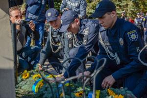 У Маріуполі відбувся мітинг до Дня захисника України