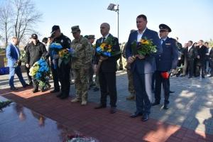 На Донеччині вшанували пам'ять загиблих захисників