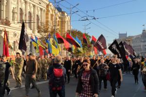 """У Харкові на мітинг """"Ні капітуляції!"""" зібралися сотні людей"""