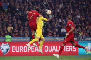 Ukraine besiegt Portugal und qualifiziert sich für die EM 2020
