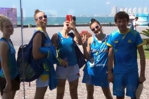 Збірні України з баскетболу 3х3 одержали перші перемоги на Всесвітніх пляжних іграх