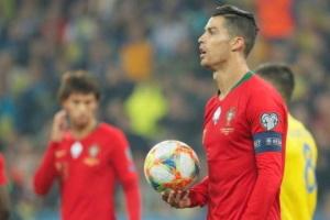 Роналду занадто пізно прокинувся - португальські ЗМІ про матч у Києві