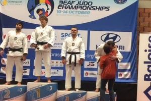 Житомирський спортсмен-дефлімпієць переміг на чемпіонаті Європи з дзюдо