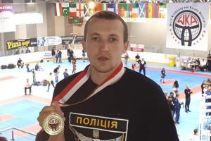 Поліцейський з Луганщини став чемпіоном світу з кікбоксингу