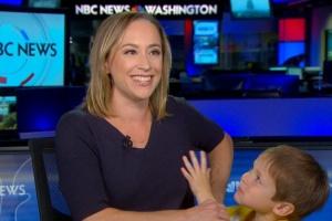 Син ведучої NBC потрапив у прямий ефір під час новин про Сирію