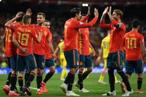 Збірна Іспанії з національним рекордом відібралася на футбольний Євро-2020