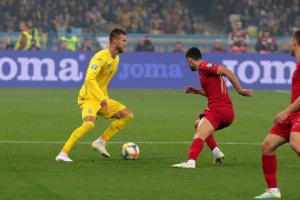 УЄФА назвав фінт Ярмоленка в матчі з Португалією кращим моментом дня