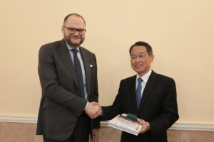 Бородянський обговорив з послом Японії підготовку до Олімпіади-2020