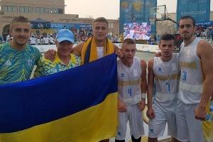 Збірна України з баскетболу 3х3 вийшла до 1/2 фіналу І Всесвітніх пляжних ігор