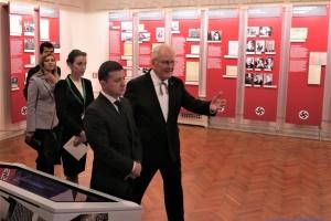 Зеленський відвідав Музей окупації Латвії