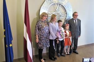 Олена Зеленська в Ризі завітала до української школи