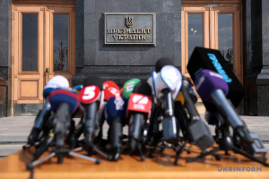 Ukraine drops one position in Press Freedom Index