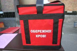 Волонтери доставлятимуть кров у медзаклади Києва на мотоциклах